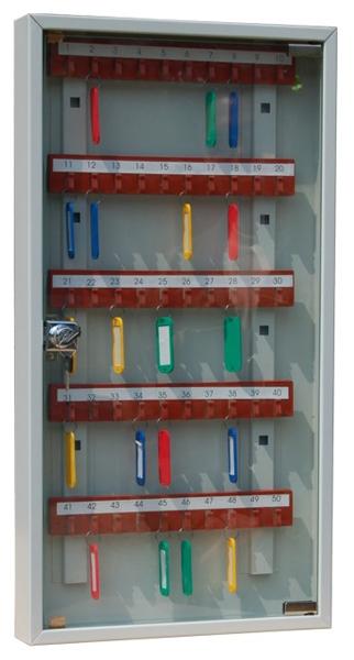 Шкаф для ключей КЛ-50C купить недорого в Екатеринбурге с брелками